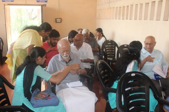 Hands on training on Mobile Apps@Chacko Homes